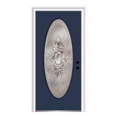 """Heirloom Master Oval Naval Front Door, 31.5""""x81.75"""", Left Hand in-Swing"""