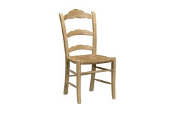 Dining Chair Sedona Mango Wood Rush Rattan, Set of 2