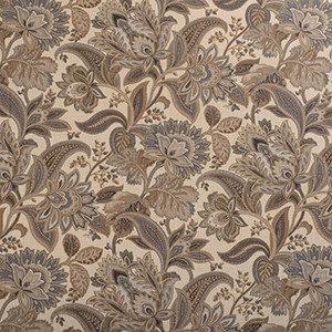 Designer Roman Shades Plain Fold, 33Wx45H, Jacobean Driftwood