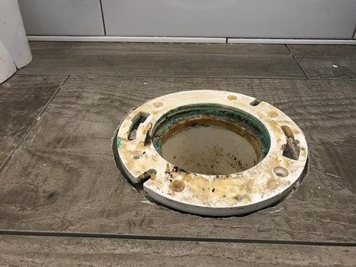 Uneven Tile Floor Under Toilet Two Birds Home