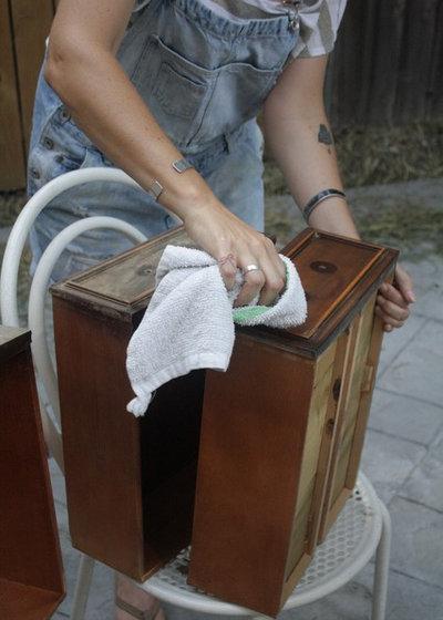 Éclectique  DIY Ombre Sideboard