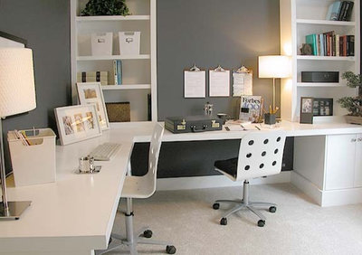 home offices: how to set up a great workspace for two