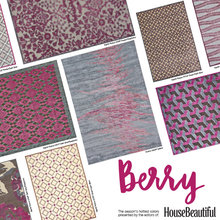 BERRY / House Beautiful Color Trend