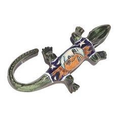 Eclipse Garden Ceramic Iguana