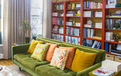 My Houzz: Daring Experiments With Color in a Harlem Apartment