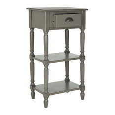 Safavieh Chucky Accent Table With Storage, Gray