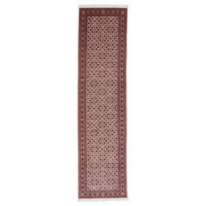Tabriz Herati Rug, Persian Carpet Runners, Hand-Knotted Classic, 294x75 cm