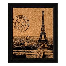 Paris Cork Board