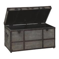 Amsel Storage Trunk, Gray