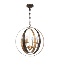 crystorama lighting crystorama luna 6 light bronze u0026 gold sphere large chandelier chandeliers - Sphere Chandelier