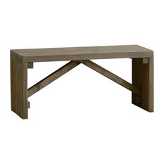 Reclaimed Wooden Bench, Small