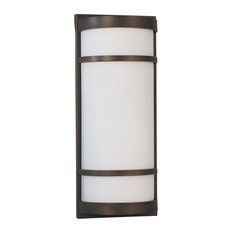 Brio LED Outdoor Sconce, Oil Rubbed Bronze