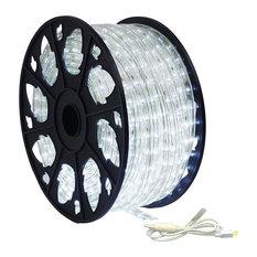 120V Dimmable LED Cool White Rope Light 150' Kit, Standard