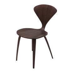 Sydney Stackable Dining Chair Dark Walnut