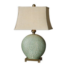 uttermost uttermost pitted ceramic table lamp destin table lamps