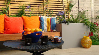 Planters for a Funky London Garden