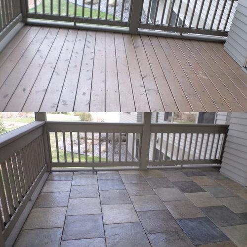 Can Dektek Tiles Be Installed Over Your Existing Deck