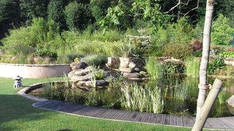 Création d'une piscine naturelle
