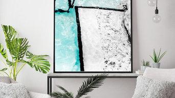 Icebergs Abstract II | Photographic Fine Art Print