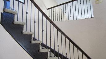 Wooden Stair rail