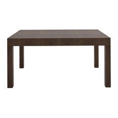 Treade Extendable Dining Table, Dark Oak, Small
