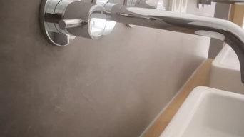 Fugenlose Badgestaltungen