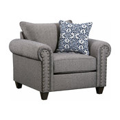 Simmons Upholstery Emma Slate Chair
