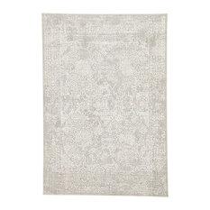 Jaipur Living Lianna Abstract Gray/White Area Rug, 12'x15'