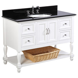 Simple Traditional Bathroom Vanities And Sink Consoles by Kitchen Bath Collection
