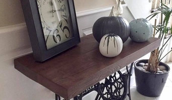 Singer Sewing Base Console Table