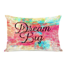 """Dream Big"" Indoor Throw Pillow by Julia Di Sano, 14""x20"""