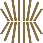 """Tyles by the Nic Studio - 8""""x8"""" Pick Up Sticks Sophisticated Vinyl Wall Decor, Metallic Gold, Set of 12 - Sometimes you feel a little mod. Sometimes you feel a little deco. Pick Up Sticks feels like a little of both. Tyles from The Nic Studio offer a stylish solution to changing your space without commitment. The sets of were put together for ease of application and flexibility of space. Whether it's a full wall, a border, or a detail, Tyles are the perfect size to work with, and are ideal for renters and owners alike. Package includes: 12 8x8"""" square Tyles, application instructions, a sample piece of vinyl to test on your wall for adherence, and a plastic tool for application. Tyles are designed and packaged in Brooklyn, New York. Manufactured in the USA."""