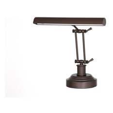 LED Piano Desk Lamp, Mahogany Bronze