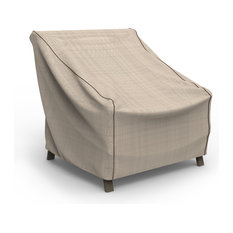 """Budge English Garden Tan Tweed Large Outdoor Chair Cover, 34""""x36""""x41"""""""