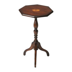 Emma Mason Signature Crescent Cherry Octagonal Pedestal Table, BUT0620