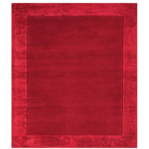 Ascot Rug, Red, 120x170 cm
