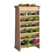 Yardcraft - Vertical Garden Planter - Outdoor Pots and Planters