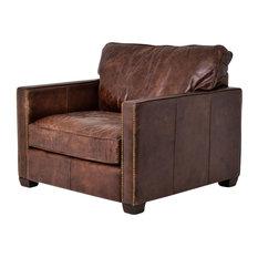 Carnegie Larkin Club Chair, Cigar