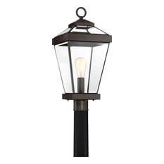 Ravine Western Bronze Finish, Large Post Lantern