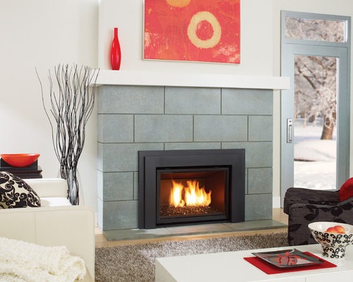 Regency Horizon HZI540E modern gas fireplace insert - Indoor Fireplaces - Gas Fireplace Inserts