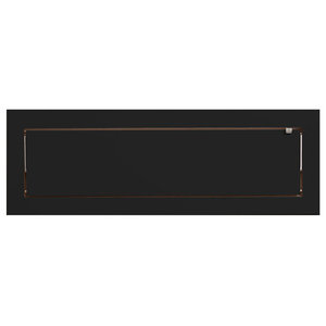 Fläpps Slim Birch Plywood Shelf, Black