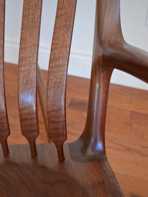 Walnut Rocking Chair - Rocking Chairs