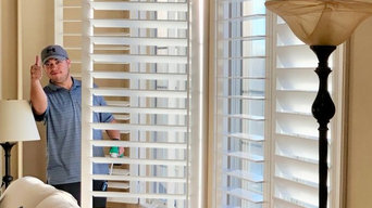 "Horizon Clear view tilt with 4"" Louver spacing. Fully Louvered."