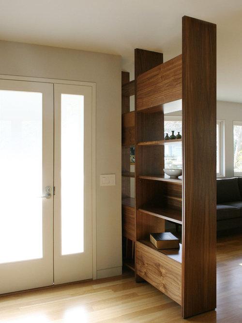 open shelving room divider houzz. Black Bedroom Furniture Sets. Home Design Ideas