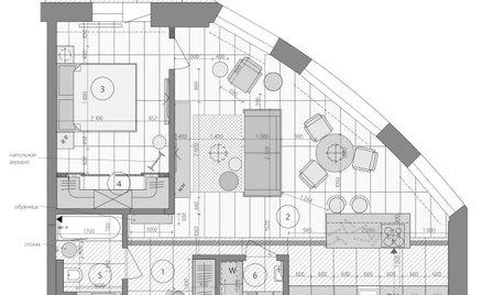 Поиск планировки: 2 варианта + финал квартиры для студентки меда