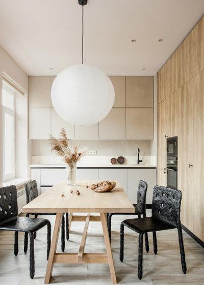 Современный Кухня by Olga Fradina Interior Design
