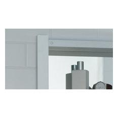 "R3 Series Cabinet, 16""x20""x4"", Single Door, Polished Edge, RC1620D4FP1"