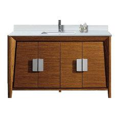 Fine Fixtures Imperial II 60-inch Single Sink Vanity Wheat