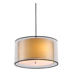 50 most popular drum pendant lights for 2018 houzz warehouse of tiffany inc adjustable ceiling lamp pendant lighting aloadofball Image collections