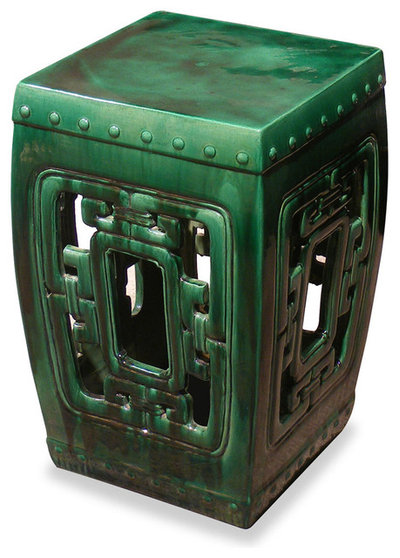 Asian Accent And Garden Stools by China Furniture and Arts
